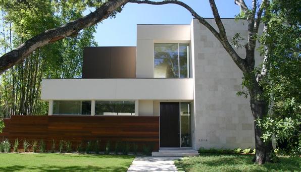 Fachadas casas modernas agosto 2013 for Casas modernas de una planta minimalistas