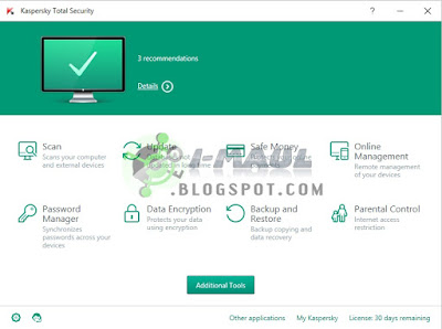 Free Download Kaspersky Total Security 2016 Latest Version Full