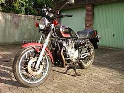 Meine  uralte Yamaha Xj 550