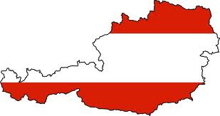 Austria-Flag map