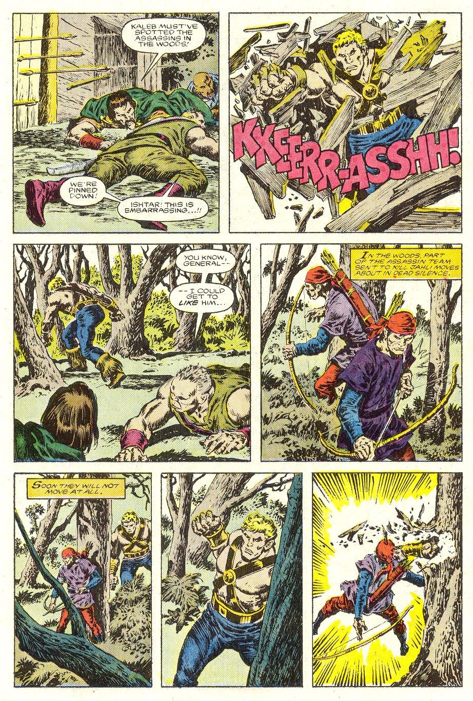 Conan the Barbarian (1970) Issue #187 #199 - English 16