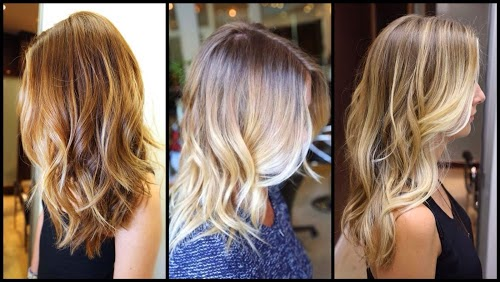 Sombre: A more subtle transition, darker brown to a lighter brown, or ...