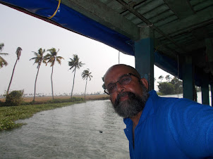 Thursday(10-3-2016) :-Alappuzha to Kanjiram by passenger boat.