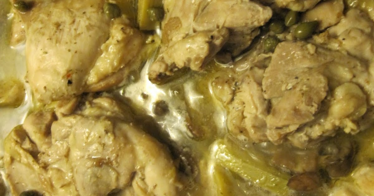 Cara Mia: Romantic Chicken With Artichokes And Mushrooms