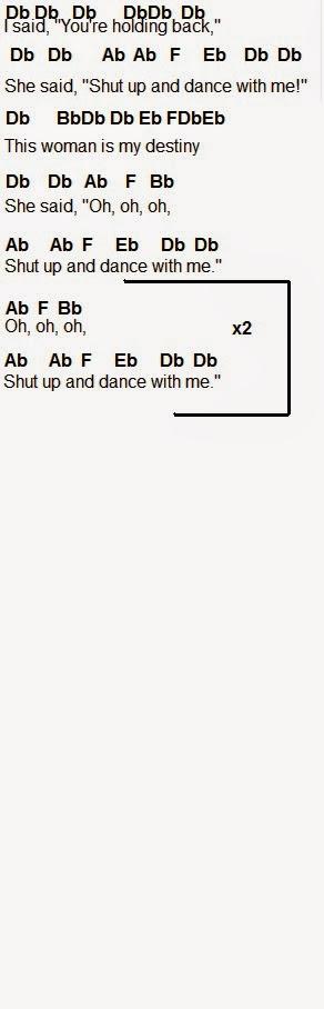 Flute Sheet Music Shut Up And Dance
