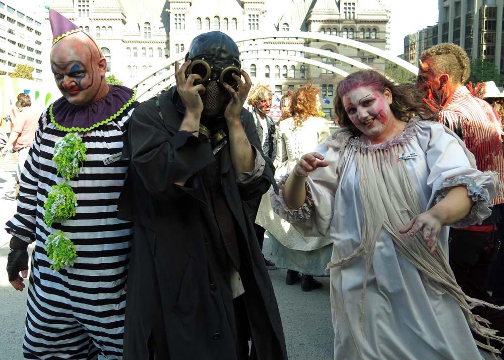 Toronto Grand Prix Tourist: A Toronto Blog: Zombies promote ...