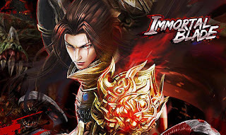 Screenshots of the Immortal blade for Android tablet, phone.