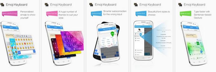 Emoji Keyboard-color,emoticons - Aplikasi Keyboard Android Terbaik