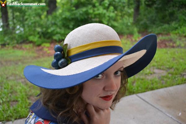 Flashback Summer: Tanith Rowan Designs - 1930s custom couture hat, millinery