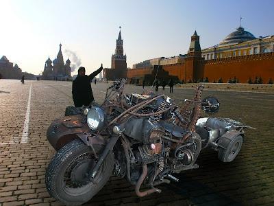 Maailman oudoin moottoripyörä - world's weirdest motorbike