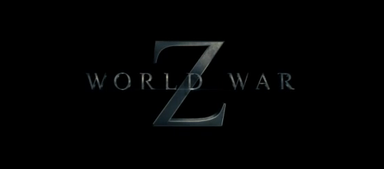 World War Z 2013 post-apocalyptic horror title directed by Marc Forster starring Brad Pitt, Mireille Enos, James Badge Dale, Matthew Fox based on Max Brooks novel
