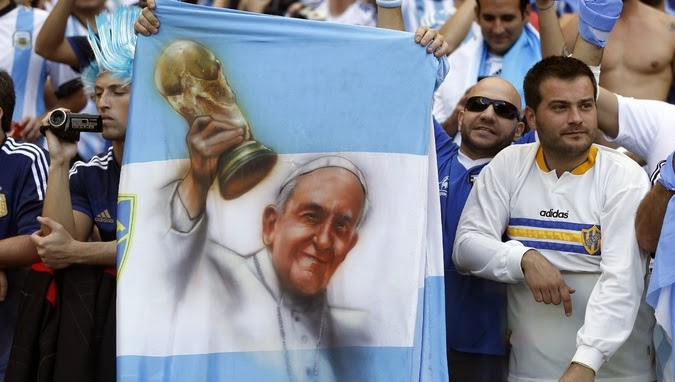 World Cup Debate: Who will God Favor? Argentina Vs Germany Pope?