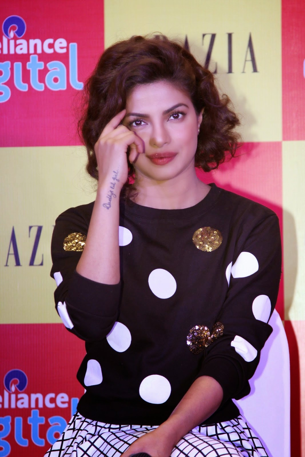Priyanka Chopra Looking Hot on Cover Launch of Grazia Magazine