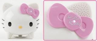 BuruTta Hello Kitty Speaker Vibration Untuk Para Gadis Imut