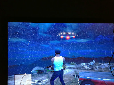 ufo GTA 5 space ship