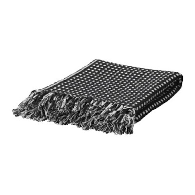 IKEA VILMIE RUND THROW