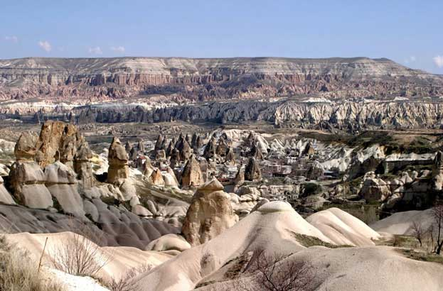 The Rock Sites of Cappadocia