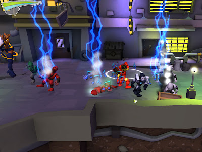 Мир вышла новая игра marvel super hero squad online