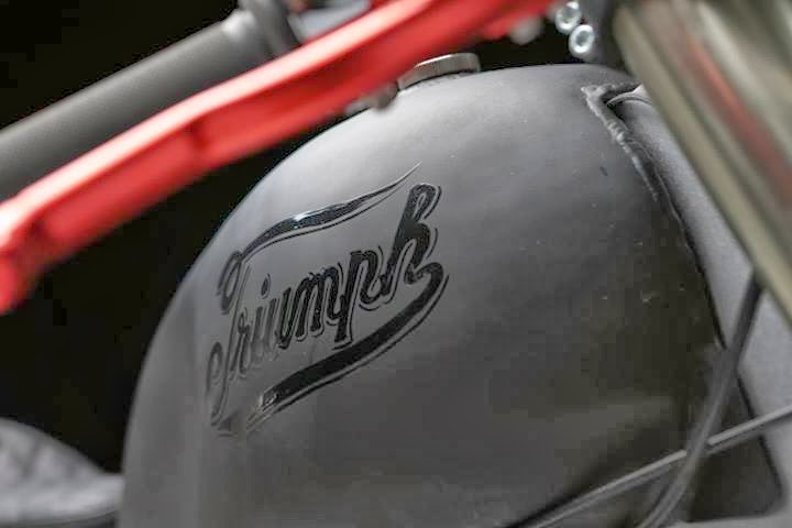 "Custom Triumph Bonneville | ""Bucephalus"" 