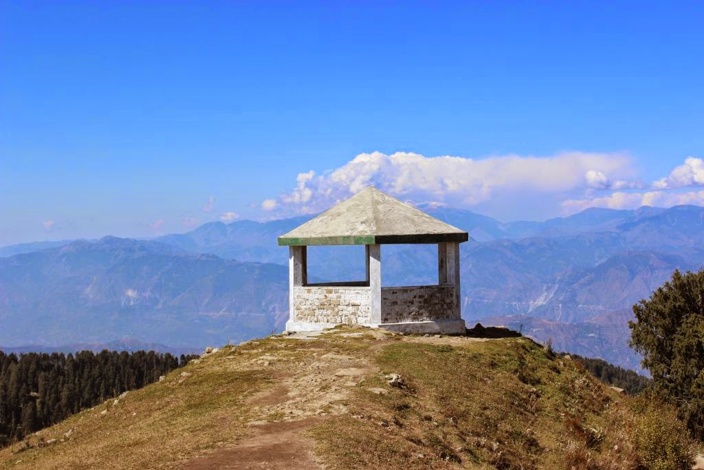 Hut on the peak