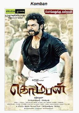 Komban (2015) Tamil Movie Watch Online and Download Free AVI 720p