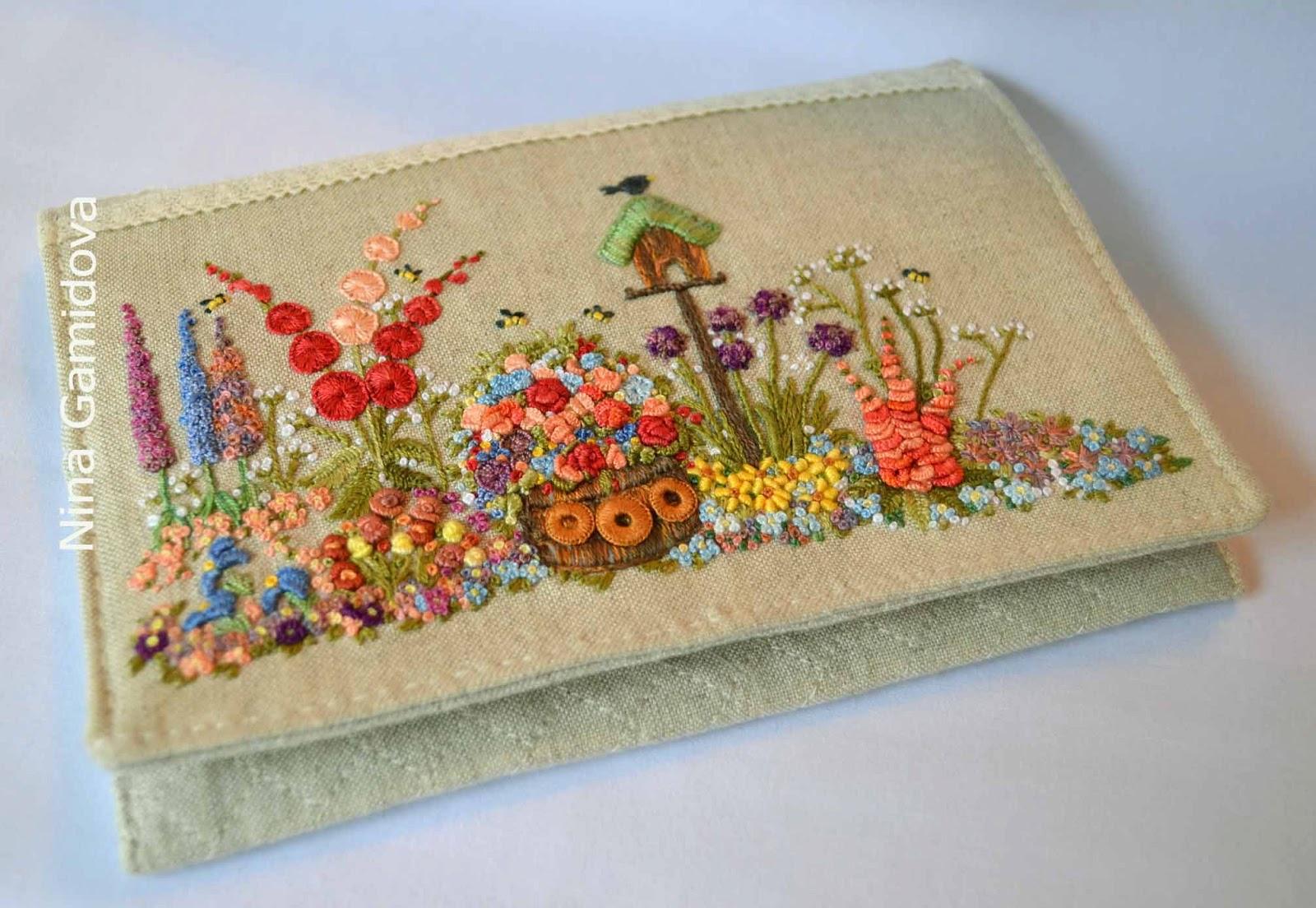 Вышивка декоративными лентами