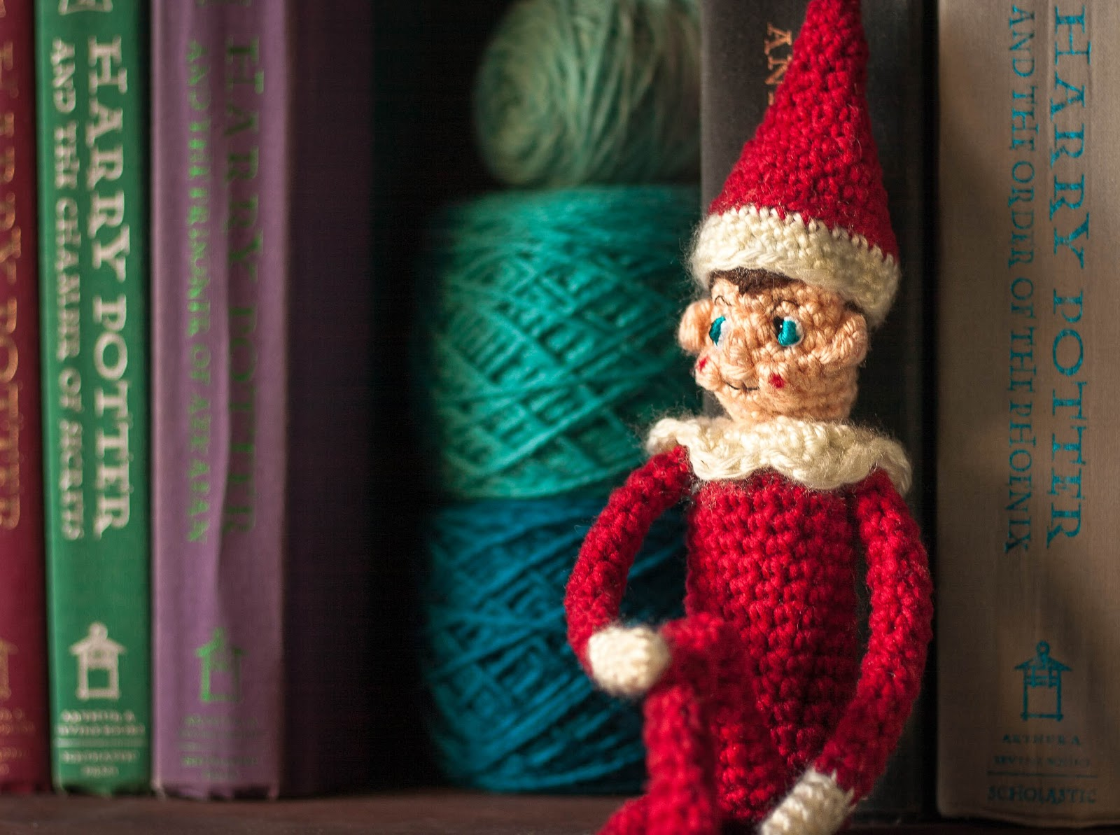 Knitting Pattern For Elf On The Shelf : The Dapper Toad: Sh(elf): Free Crochet Pattern