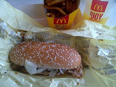 McDonald's Prosperity Burger Chicken