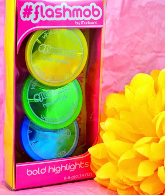 #Flashmob - Flashmob cosmetics - Nail products - nail glitter - brights - bolds - lip glosses - make up - hair chalks - eyeshadows - eye shades - giveaway - win