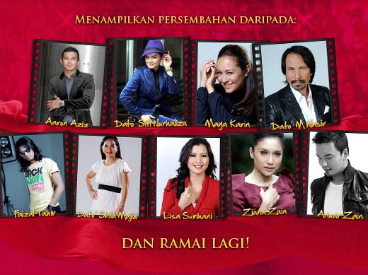 Senarai Pemenang Kategori ABPBH 2011 Anugerah Bintang Popular Berita Harian 2011