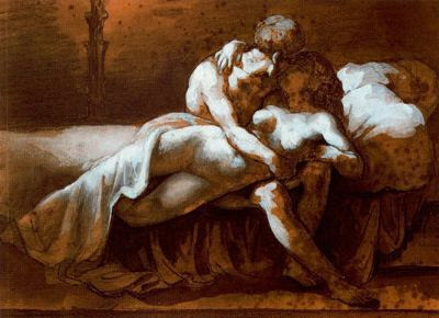 El petó (Théodore Géricault)