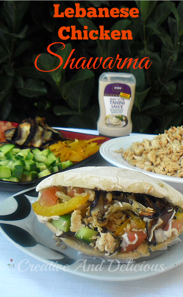 Lebanese Chicken Shawarma With A Blast