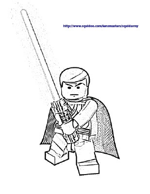 Lego Star Wars Anakin Coloring Pages - Colorings.net