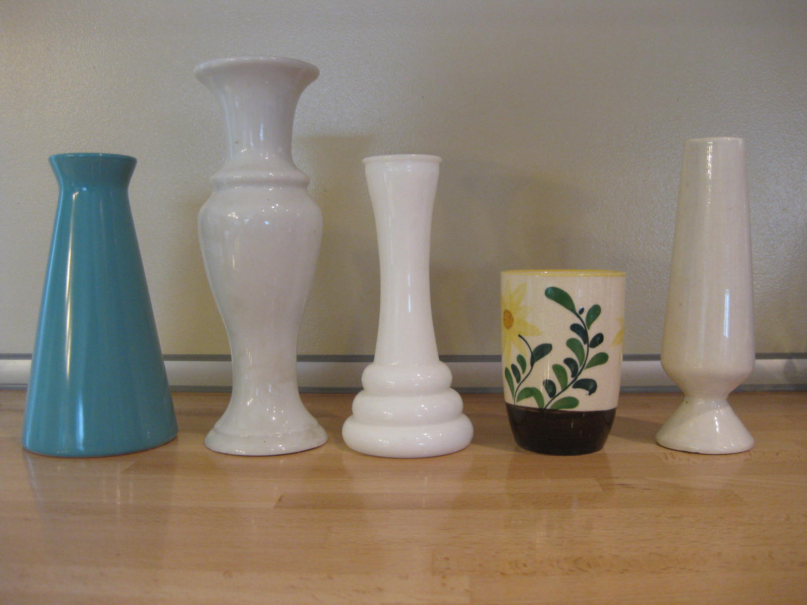H is for handmade multiple vase centerpiece tutorial