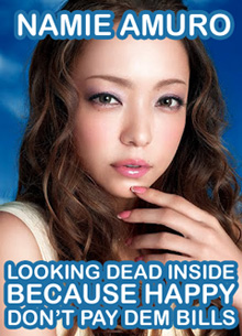 Namie looks dead for Esprique make-up | J-Pop shizzle
