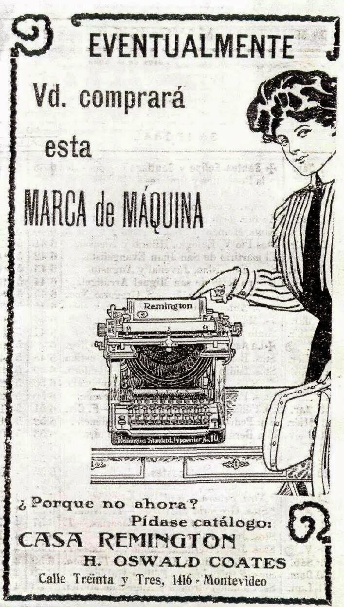 Maquinas escribir Remignton