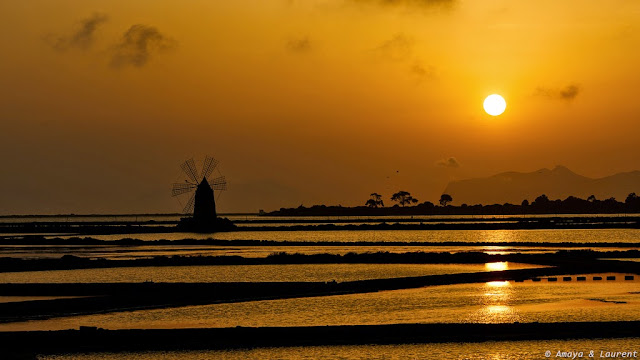 Marsala, Sicily sunset