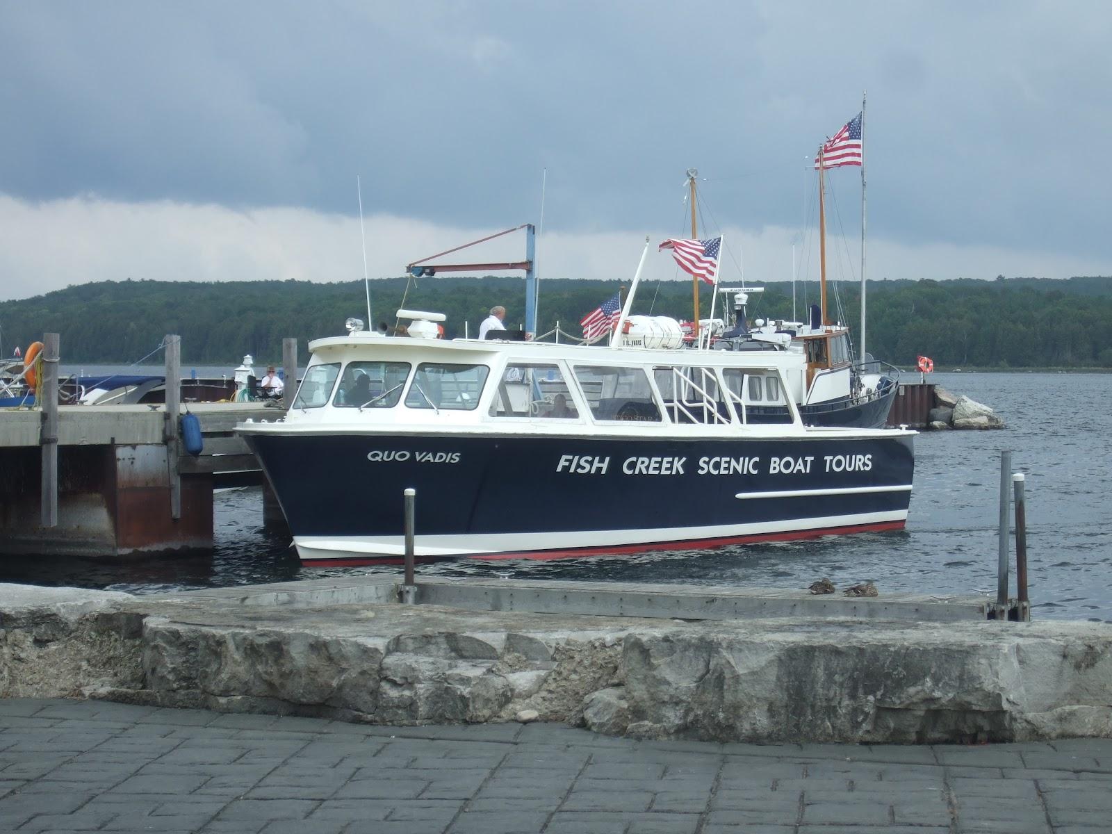 Gills Rock Ferry To Washington Island