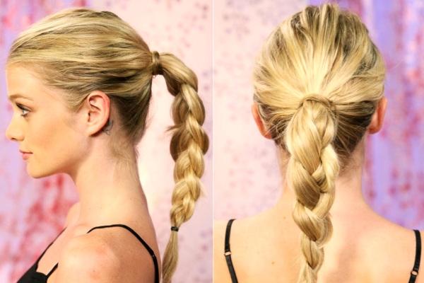 rambut kepang cara terbaik untuk menghilangkan ujung rambut yang rusak