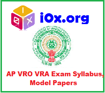 AP VRO VRA Model Papers