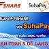 Fshare tích hợp cổng thanh toán trực tuyến Sohapay