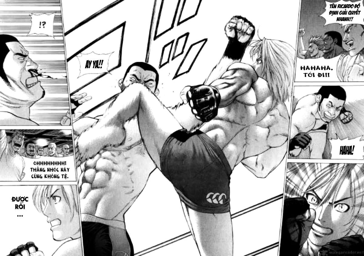 Karate Shoukoushi Kohinata Minoru chap 57 Trang 16
