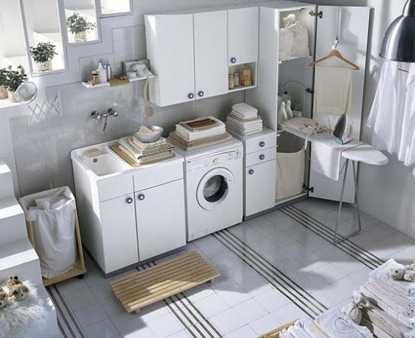 Ideas para decorar dise ar y mejorar tu casa fotos de for Muebles para lavanderia de casa