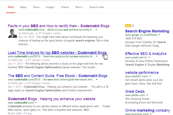 Faults in your SEO and How to rectify them
