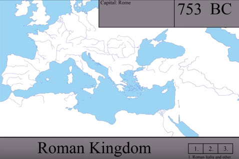 Η ιστορία της Ρωμαικής Αυτοκρατορίας: Από την Ρώμη στο Βυζάντιο