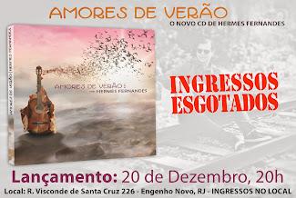 Amores de Verão - Novo cd de Hermes Fernandes