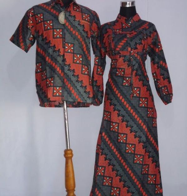 Baju Murah Lajava Batik Couple Gamis Toko Baju Gamis Murah