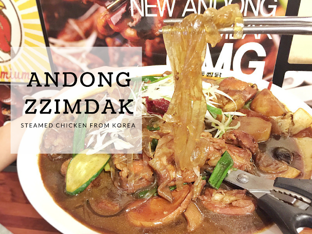 Singapore - Andong ZzimDak at Raffles City