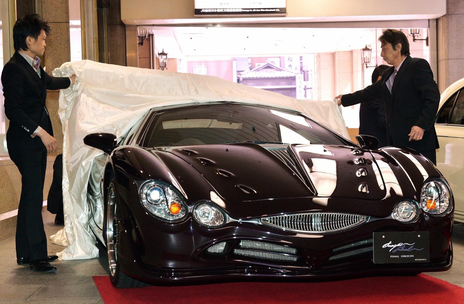 Akio Mitsuoka, Auto Industry, Car Designer, Fashion-Super Car, Japan, Luxury Cars, Mitsuoka Final Orochi, Mitsuoka Motors, Mitsuoka Orochi, Orochi, Sports Cars, Takanori Aoki, Tokyo, Yamata no Orochi,