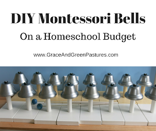 DIY Montessori Bells